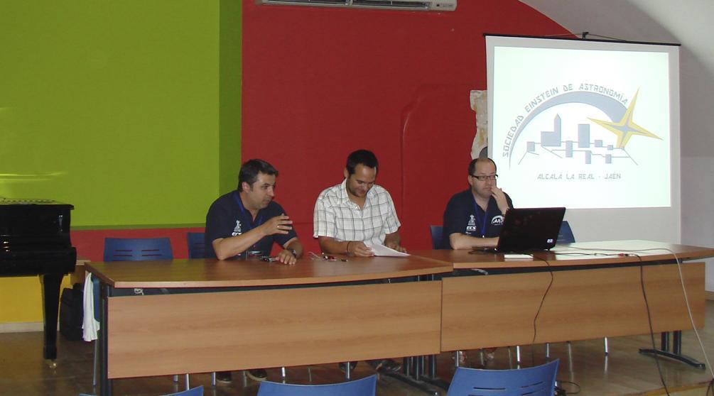 Inauguracion - AstroAlcalá 2010