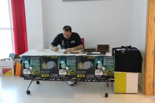 Registro de participantes - AstroAlcalá 2011