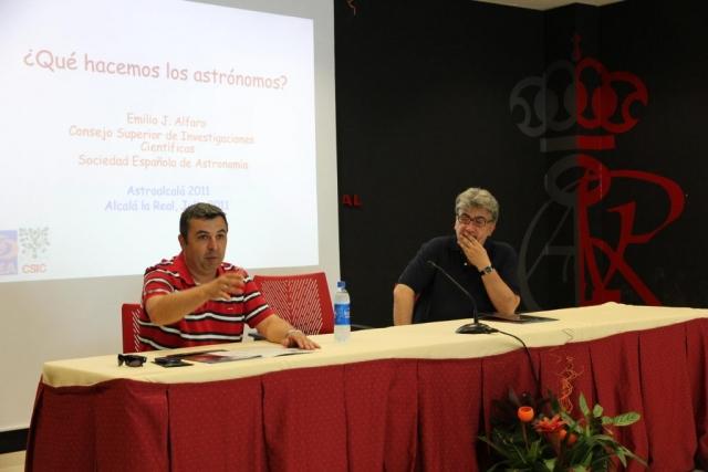 Dr. Emilio Alfaro  - AstroAlcalá 2011
