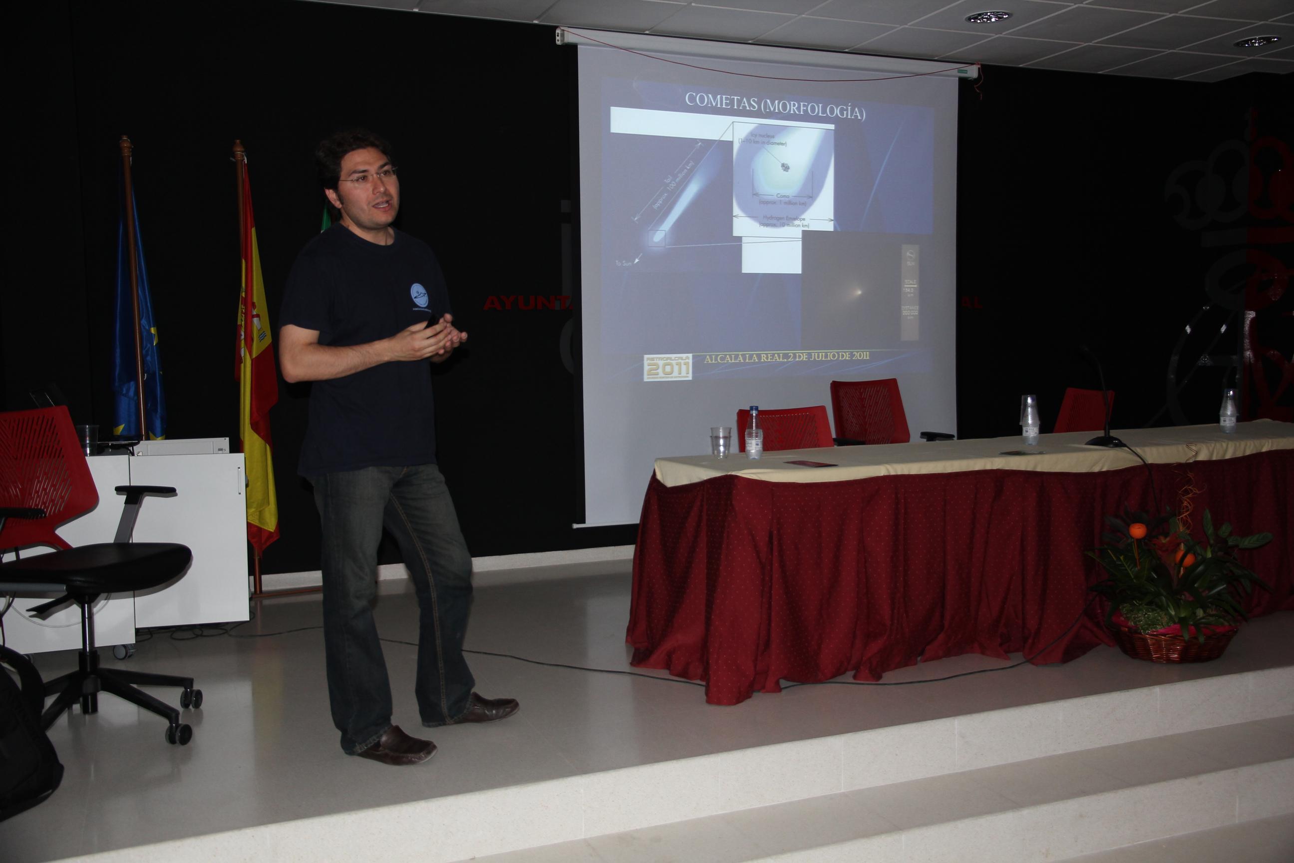 José Carlos Millán - AstroAlcalá 2011