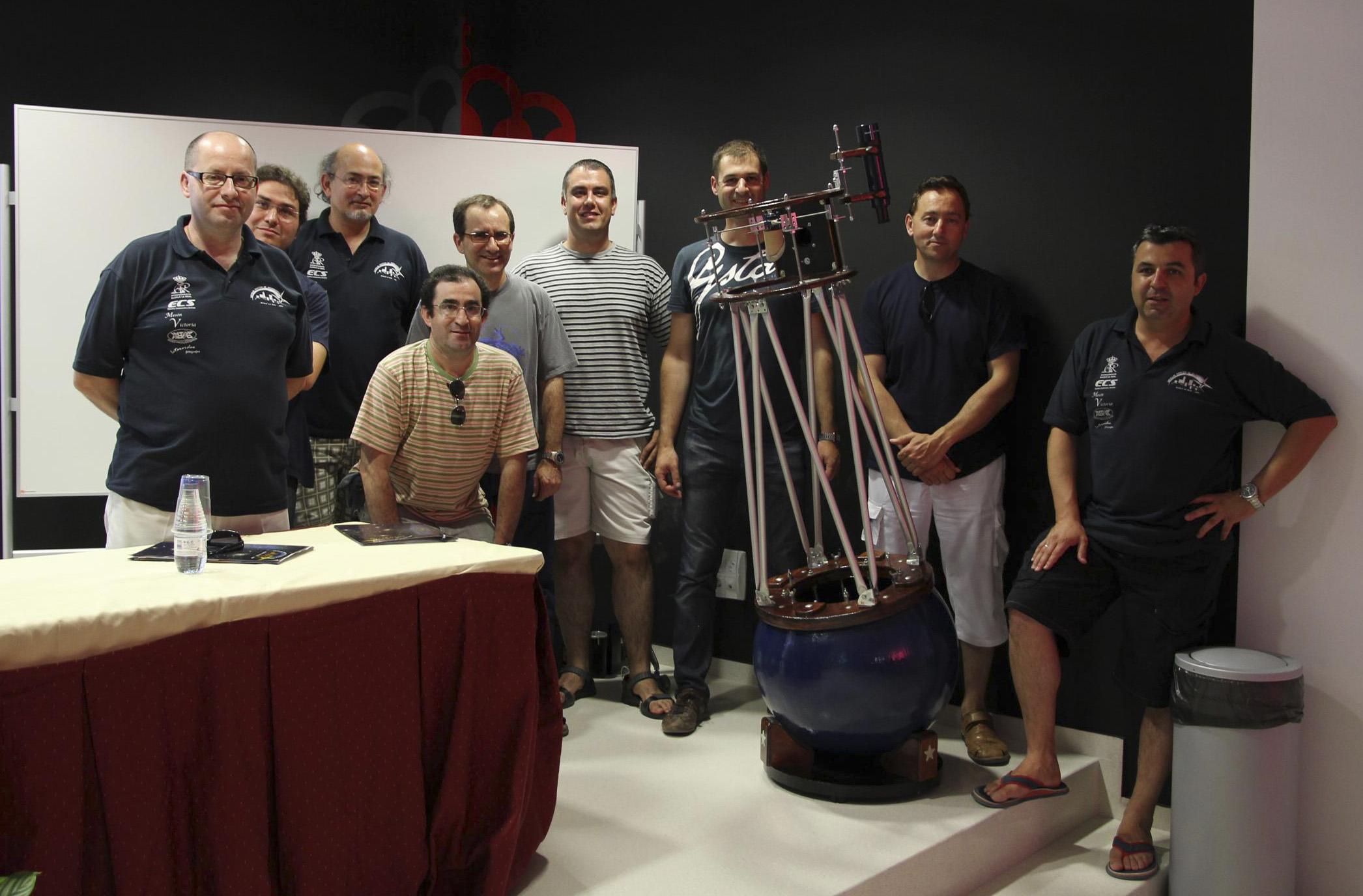 Bolascopio - AstroAlcalá 2011