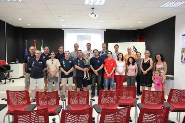 Algunos de los participantes - AstroAlcalá 2011