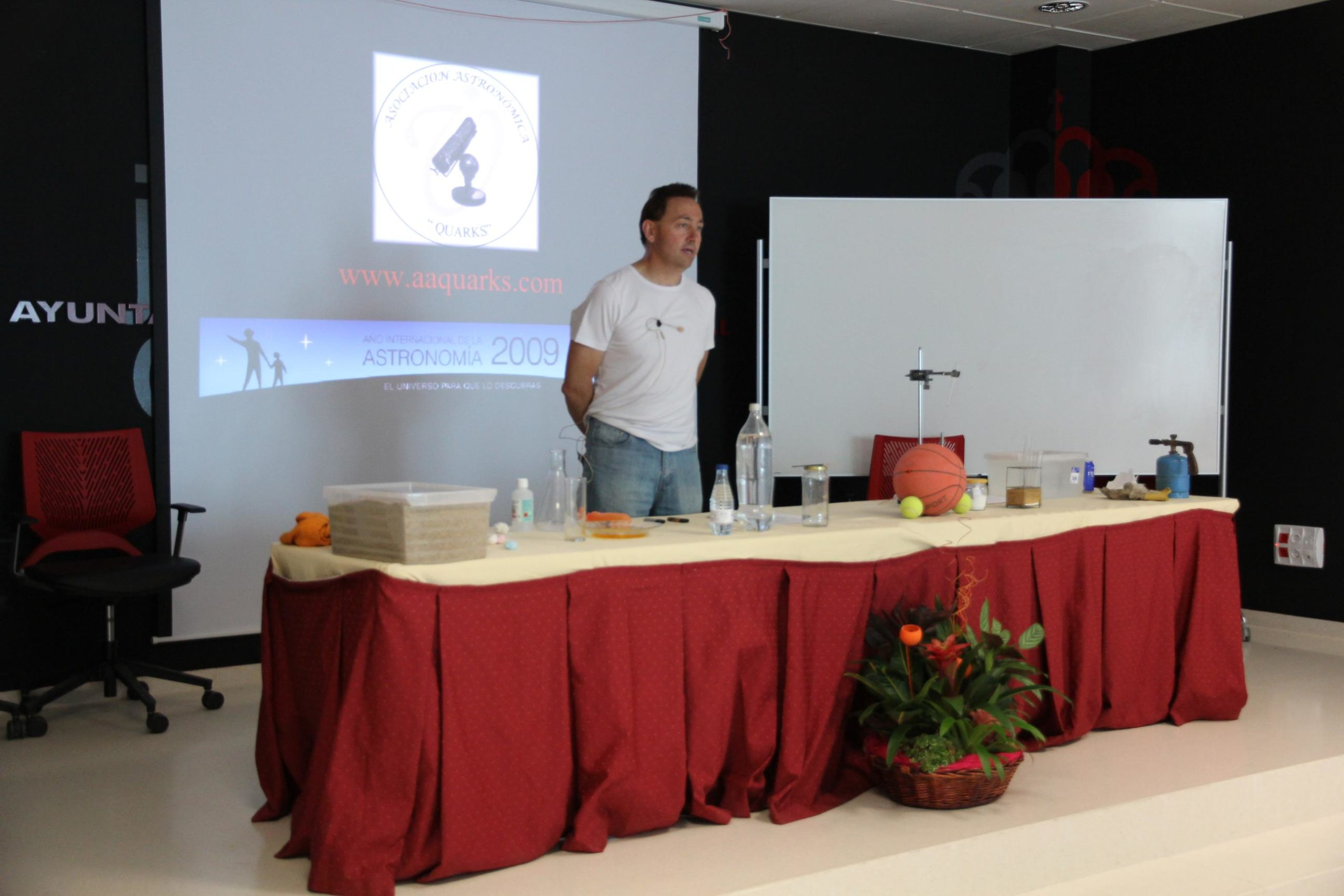 Alfonso Valenzuela  - AstroAlcalá 2011