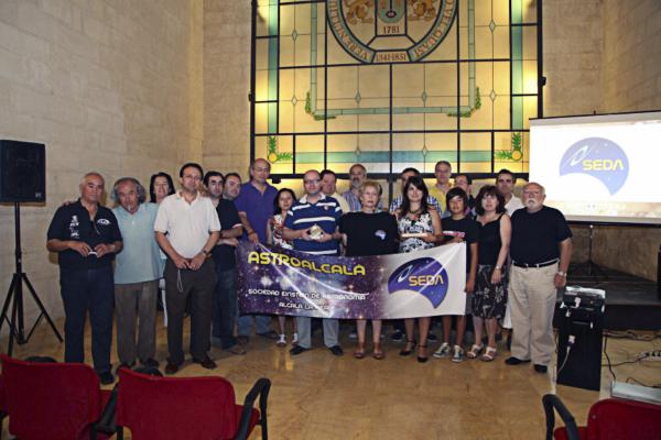 Algunos socios y Participantes - AstroAlcalá 2012