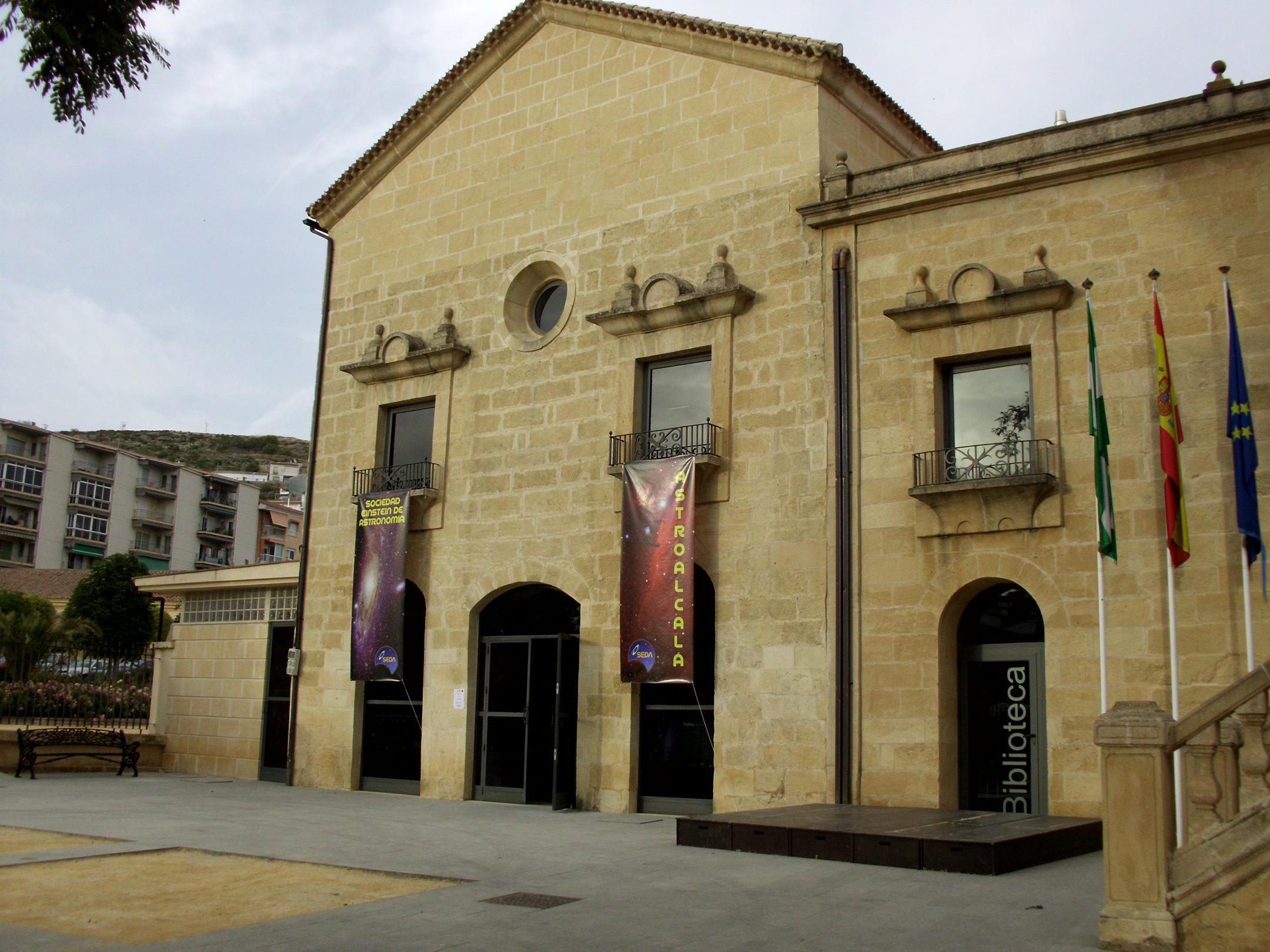 Aula Magna Convento Capuchinos - AstroAlcalá 2012