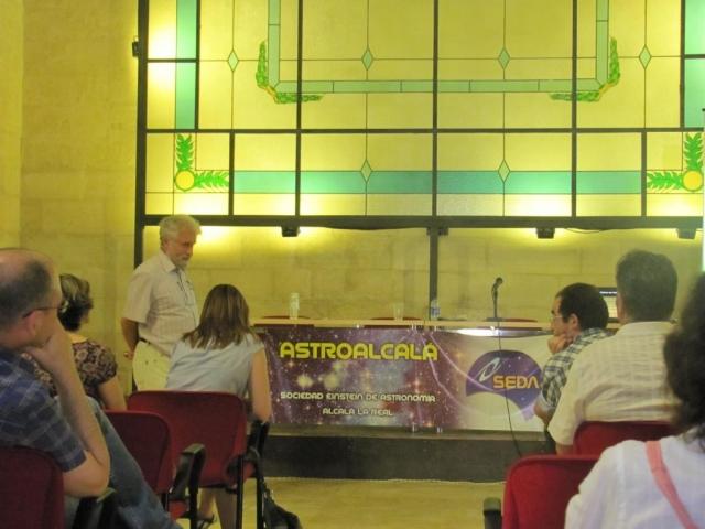 Dr. Eduardo Battaner - AstroAlcalá 2012
