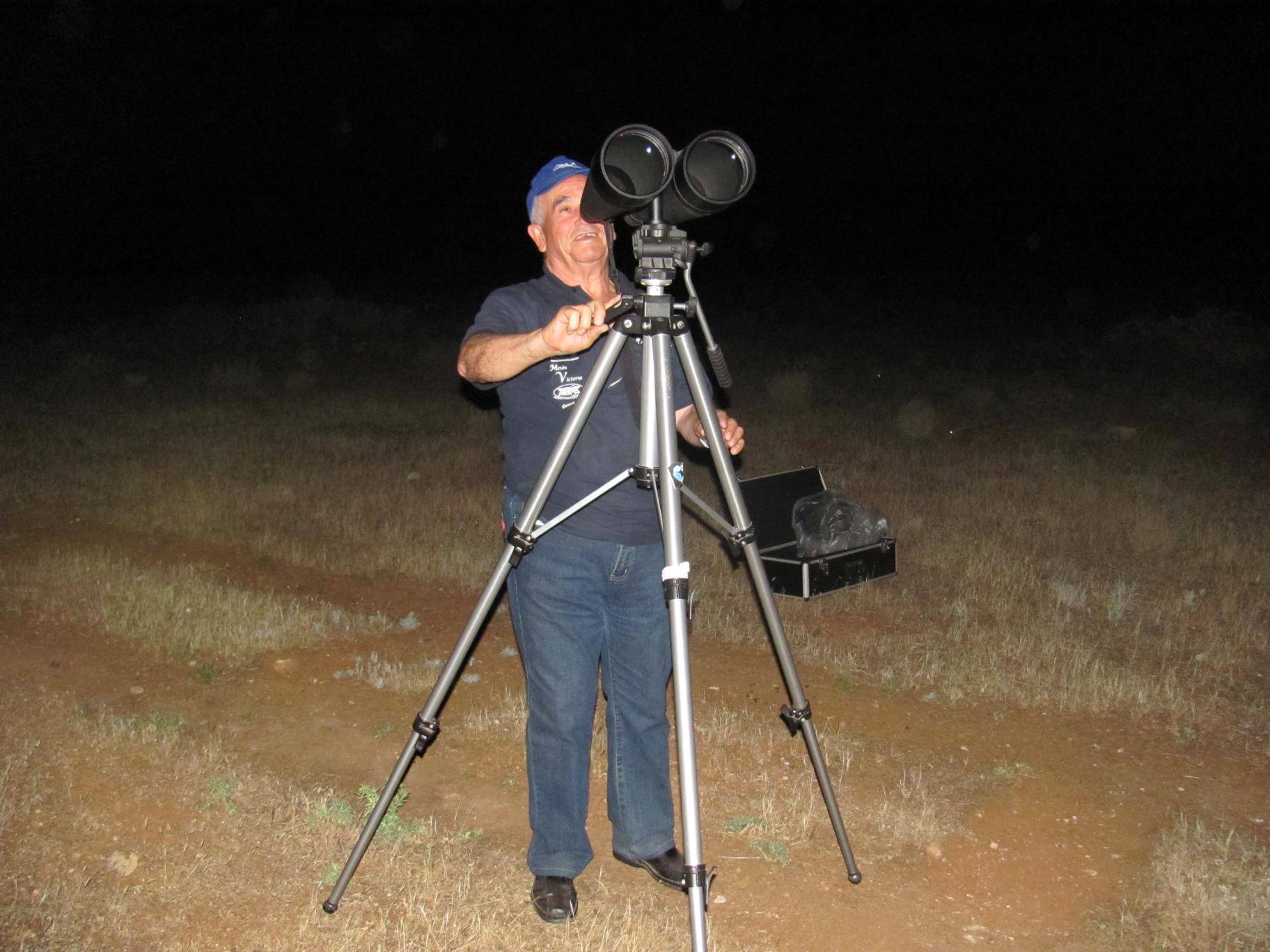 Observación Astronómica - AstroAlcalá 2012