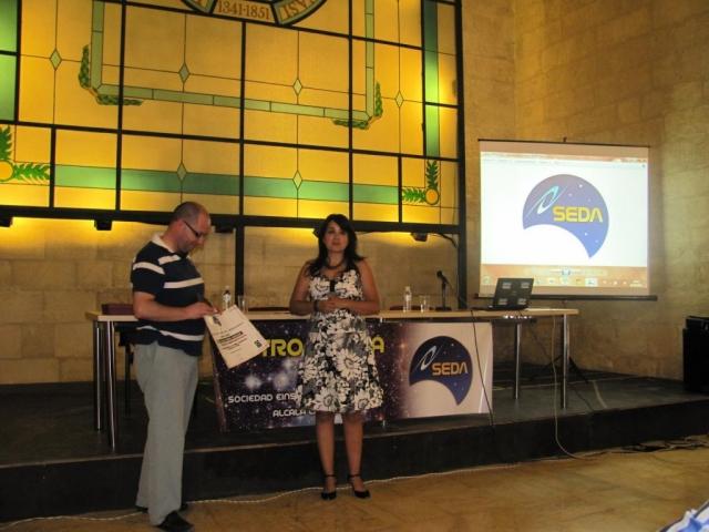 Paco Montes y Silvia Ramos - AstroAlcalá 2012