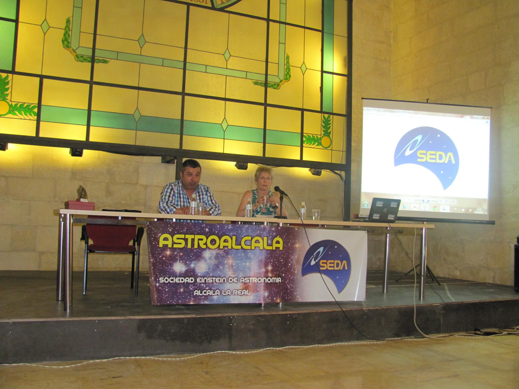 Clausura Jornadas - AstroAlcalá 2012
