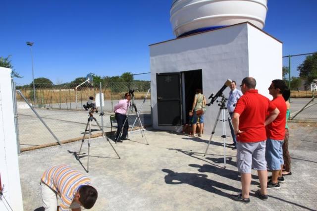 Observación Solar - AstroAlcalá 2013