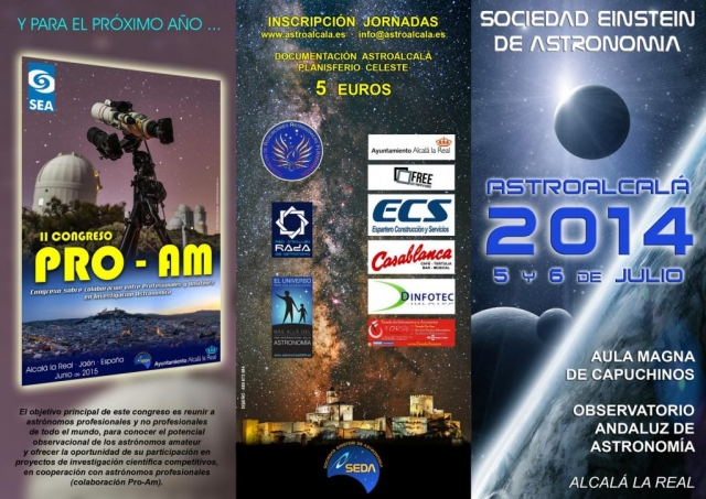Programa AstroAlcalá 2014