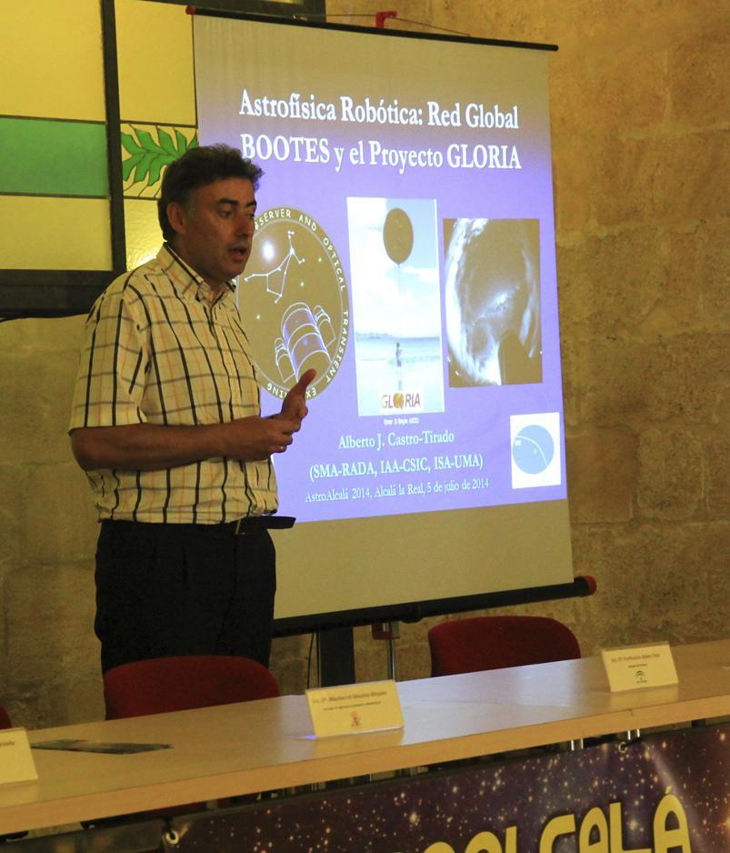 Dr. Alberto Castro - AstroAlcalá 2014