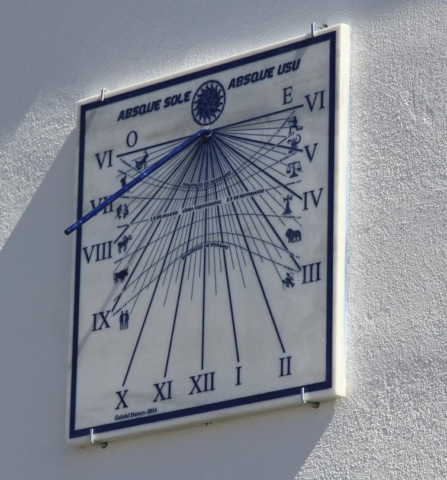 Reloj de Sol SEDA - AstroAlcalá 2014