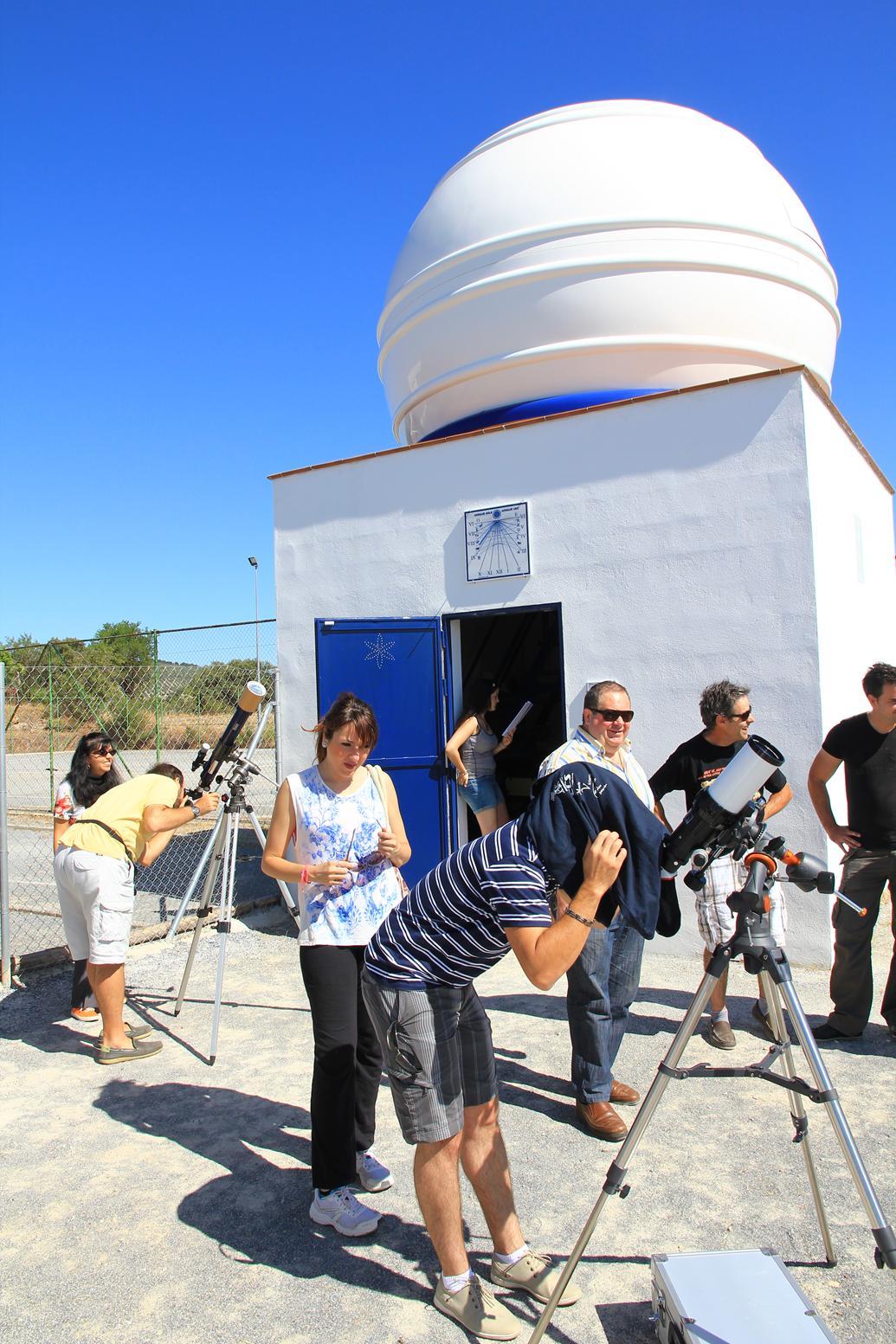 Observación solar - AstroAlcalá 2014