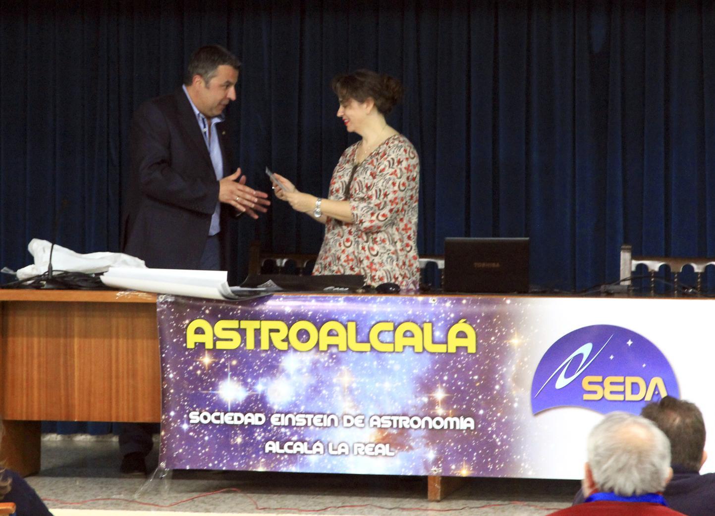 Dr. Luisa Lara - AstroAlcalá 2016
