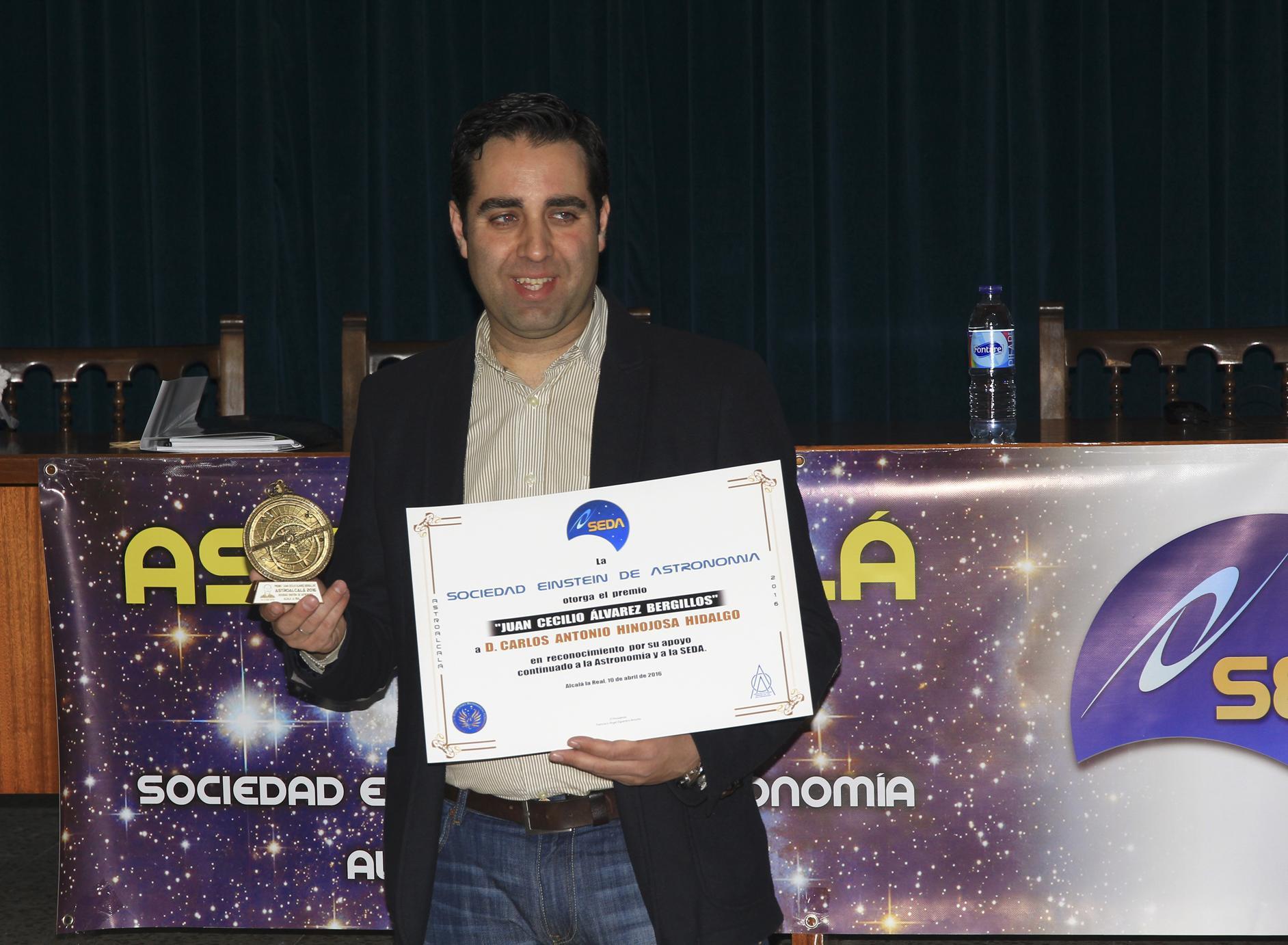Premio Juan Cecilio Álvarez Bergillos - AstroAlcalá 2016