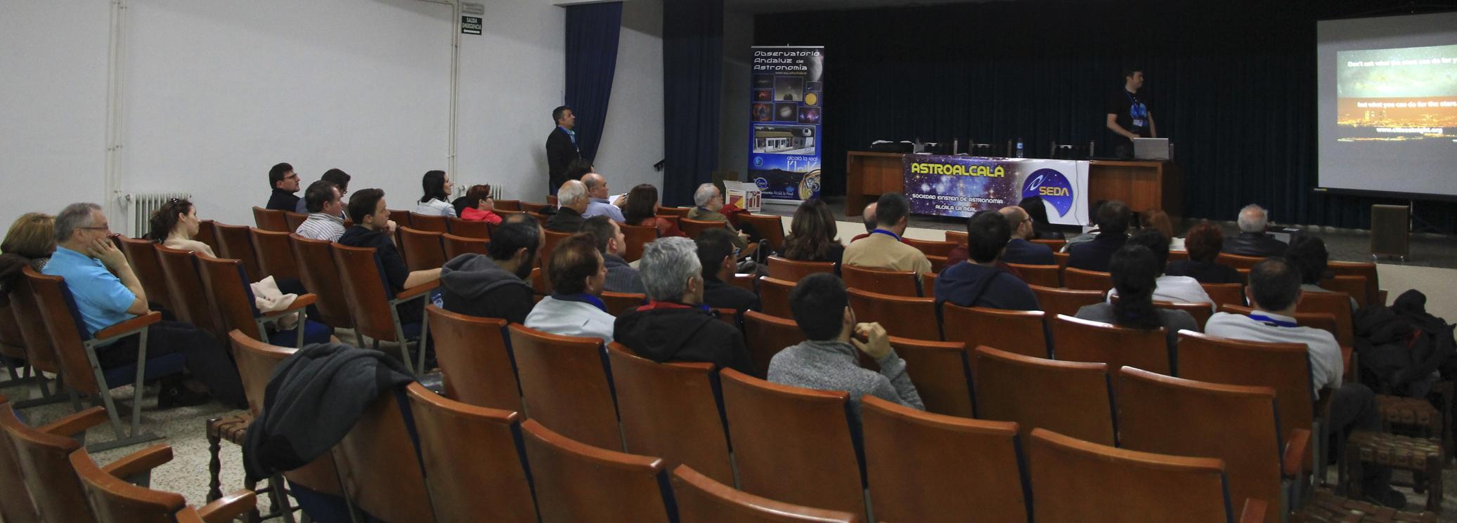 Dr. Alejandro Sánchez - AstroAlcalá 2016