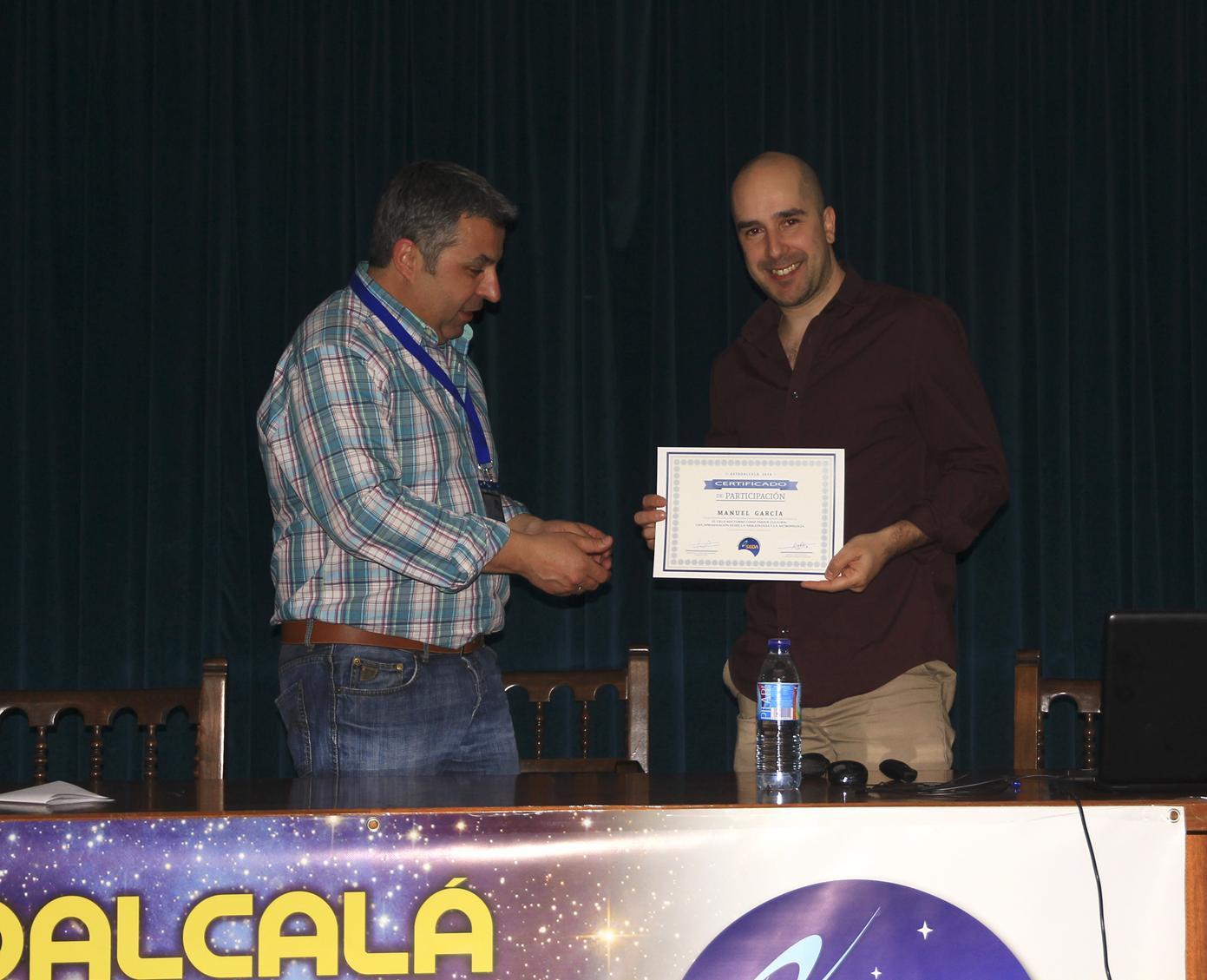 Manuel García - AstroAlcalá 2016