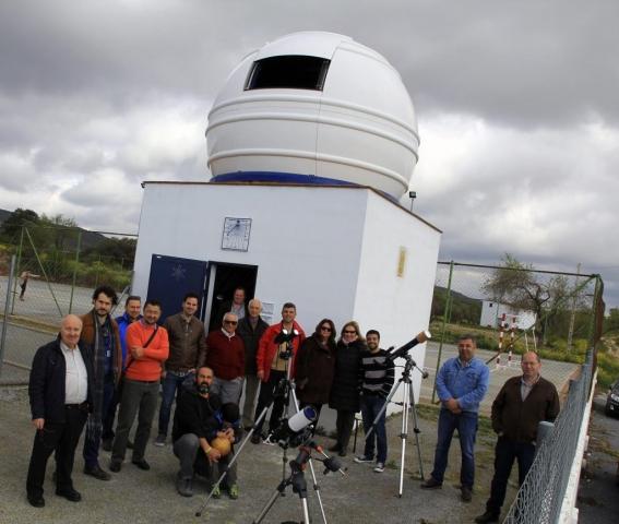 Esperando al Sol - AstroAlcalá 2016