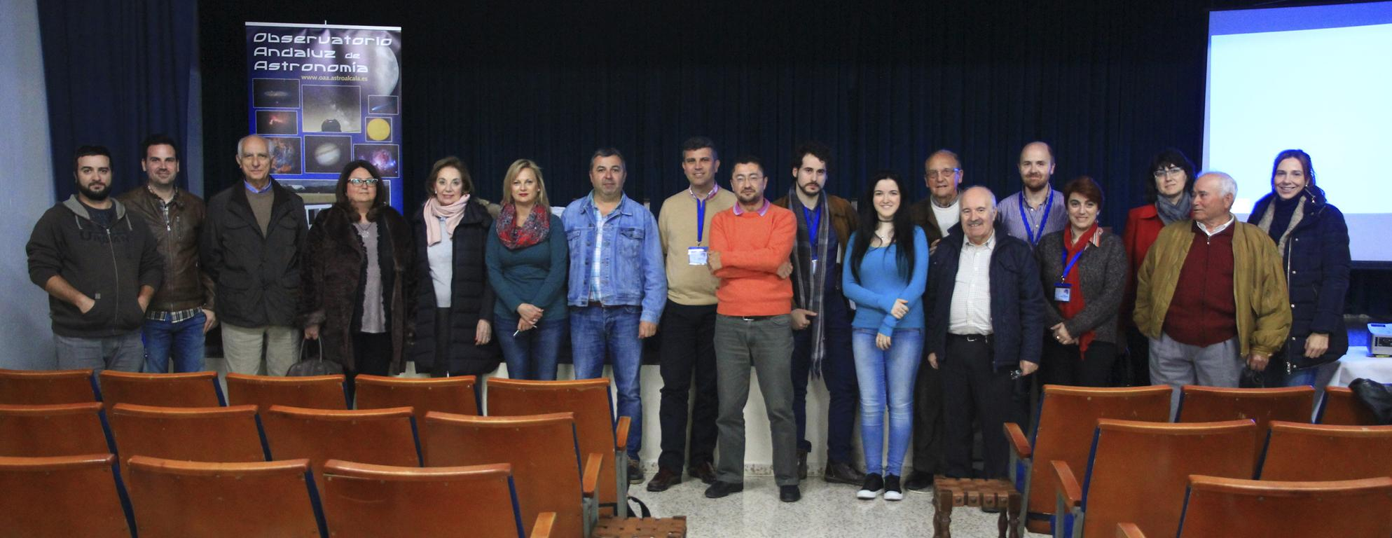 Algunos socios y Participantes - AstroAlcalá 2016