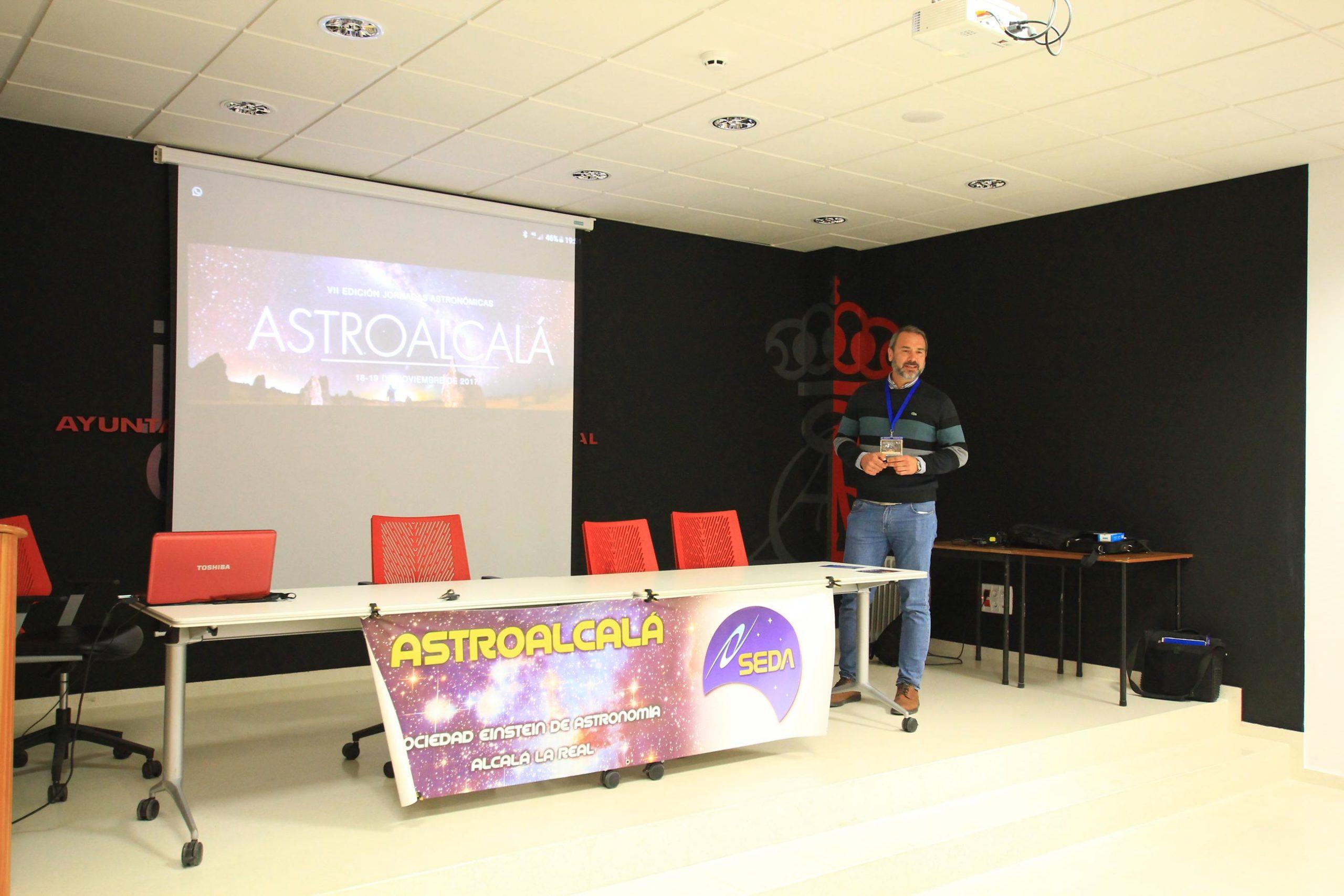 Juan Antonio Sánchez (JASP) - AstroAlcalá 2017