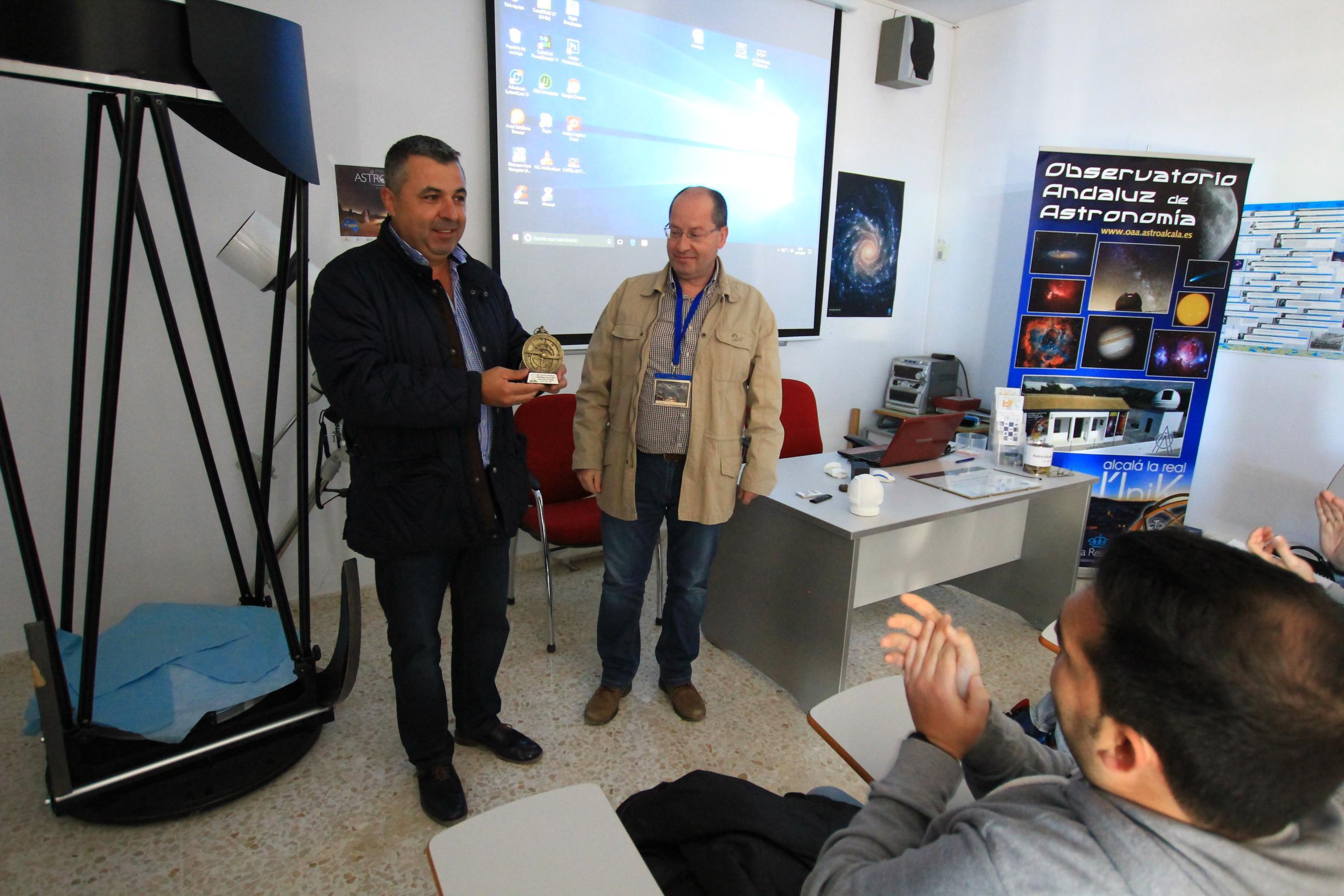 Premio Juan Cecilio Álvarez Bergillos - AstroAlcalá 2017