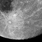 Cráter Tycho y su sistema radial