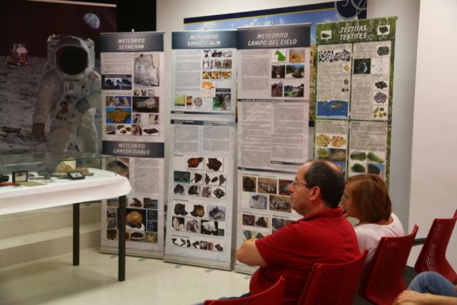 Exposición Meteoritos - AstroAlcalá 2019